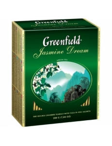 Фото Чай зеленый Greenfield Jasmine Dream, 100*2г